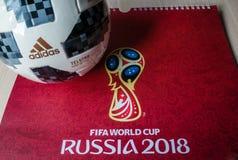 Fußball-Weltmeisterschaft 2018 Stockbilder