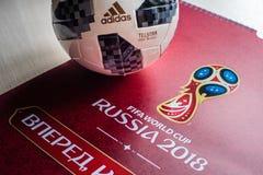Fußball-Weltmeisterschaft 2018 Lizenzfreies Stockfoto