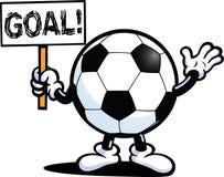 Fußball-Zeichen Lizenzfreies Stockfoto