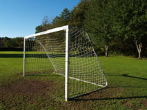 Fußball-Ziel Stockbilder