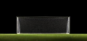 Fußball-Ziel-Fußball-Ziel Lizenzfreie Stockfotos