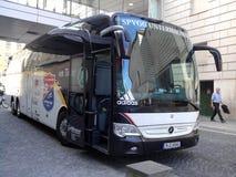 Fußballbus Lizenzfreie Stockbilder