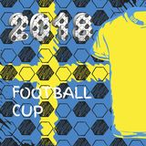 Fußballcup 2018 Russlands Schweden Stockfotografie