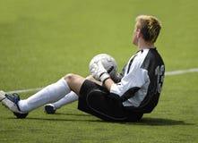 Fußballfußballtorhüter Stockbilder