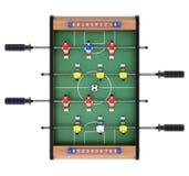 Fußballgesellschaftsspiel Stockfotos