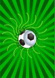 Fußballhintergrund Lizenzfreies Stockfoto
