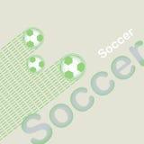 Fußballhintergrund. Lizenzfreie Stockbilder