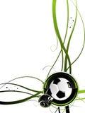 Fußballhintergrund Lizenzfreie Stockfotografie