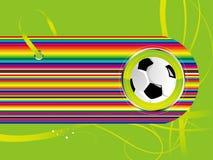 Fußballhintergrund stock abbildung