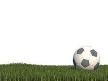 Fußballhintergrund 3d CG lizenzfreie abbildung