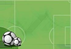 Fußballhintergrund Auslegung Lizenzfreie Stockfotos