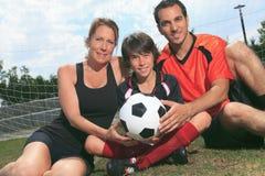 Fußballkind Stockbilder