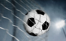 Fußballkugel Stockfoto
