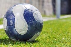 Fußballkugel Lizenzfreie Stockbilder