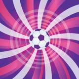 Fußballkugel Lizenzfreies Stockfoto