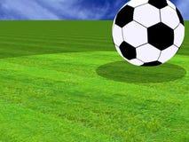 Fußballkugel Stockfotografie