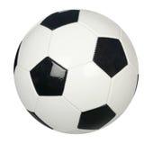Fußballkugel getrennt Stockbild