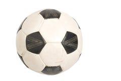 Fußballkugel getrennt Lizenzfreies Stockfoto