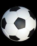 Fußballkugel, umrissen Stockfotos