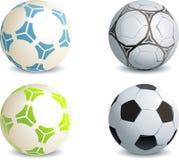Fußballkugeln Lizenzfreies Stockbild