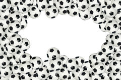 Fußballkugelrand Stockbilder