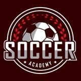 Fußballlogo, Amerika-Logo, klassisches Logo Lizenzfreie Stockfotografie