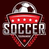 Fußballlogo, Amerika-Logo, klassisches Logo Lizenzfreie Stockbilder