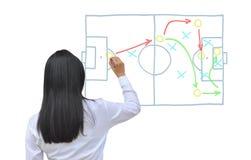 Fußballmanager Lizenzfreies Stockbild