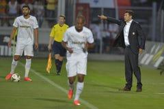 Fußballmanager - Hubert Fournier Lizenzfreie Stockfotografie