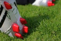 Fußballmatten lizenzfreies stockfoto