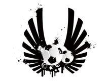 Fußballmuster Lizenzfreies Stockfoto