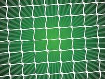 Fußballnettohintergrund Stockbild