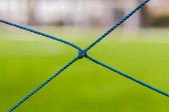 Fußballnetz, Fußballziel Lizenzfreies Stockbild