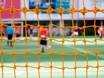 Fußballnetze Lizenzfreies Stockbild