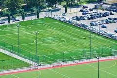Fußballplätze Lizenzfreie Stockfotos