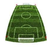 Fußballplatz Lizenzfreie Stockfotos