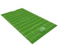 Fußballplatz 3d Stockbilder