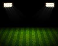 Fußballplatzarena Lizenzfreies Stockfoto