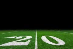Fußballplatzhintergrund Lizenzfreie Stockbilder
