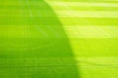 Fußballplatzhintergrund Lizenzfreie Stockfotografie