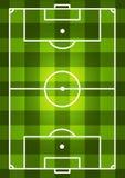 Fußballplatzhintergrund Stockbilder