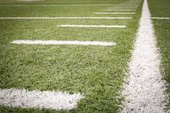 Fußballplatzmarkierungen Lizenzfreie Stockfotos