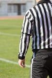 Fußballschiedsrichter Stockfoto