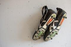 Fußballschuhe Lizenzfreie Stockfotos