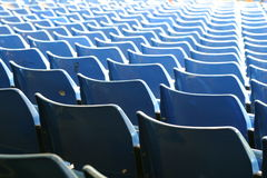 Fußballsitze 2 Lizenzfreies Stockfoto