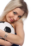 Fußballspaße Stockbilder