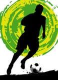 Fußballspieler Lizenzfreies Stockfoto