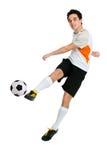 Fußballspieler Lizenzfreies Stockbild