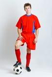 Fußballspieler Stockfoto