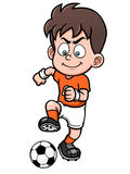 Fußballspieler vektor abbildung